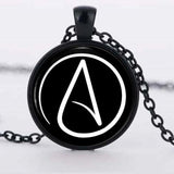 Atheist Pendent Necklace