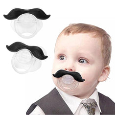 Moustache Baby Pacifier