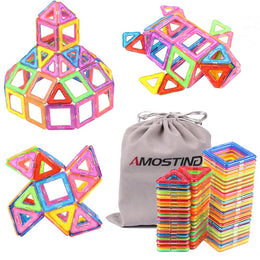 64pcs Magnetic Building Blocks Set