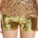 Sequin Party Shorts