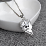 You are my Panda Best Friends Necklace