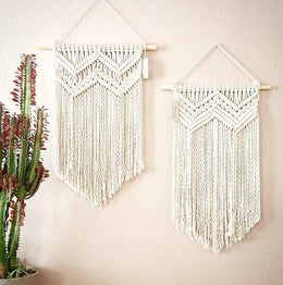May You Macrame Wall Art