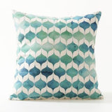 Splashed On Watercolor Pillow Cases