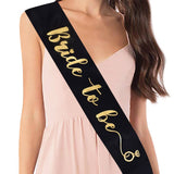 Satin Bride-to-Be Sash