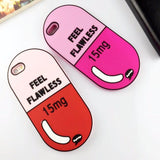 Feel Flawless Pill iPhone Case