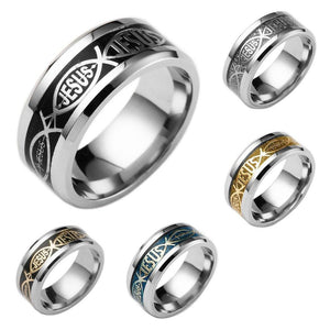 Jesus Christ Band Ring