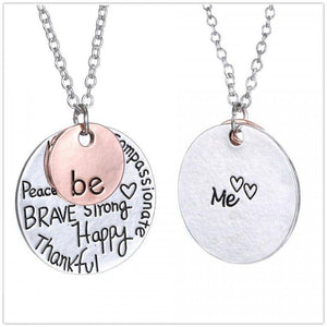 Be Motivational Necklace