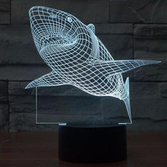Shark 3D Led Night Light