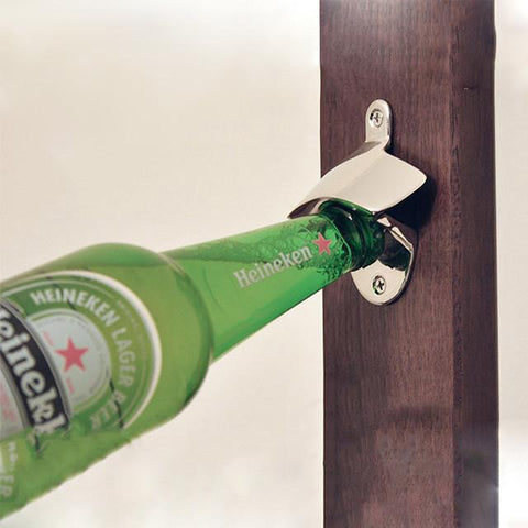 Stanless Steel Wall Mount Bottle Opener