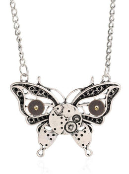 Steampunk Butterfly Necklace