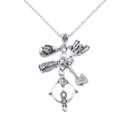 The Walking Dead Charms Pendant Necklace