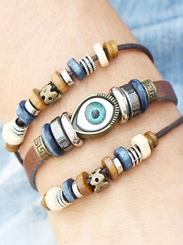 Turkish Evil Eye Ethnic Bracelet