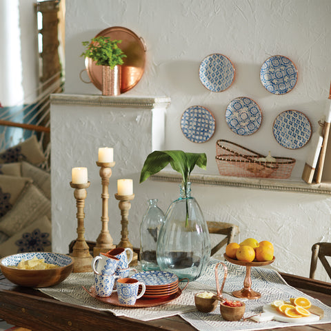 Design Tips: Decorative Plates as Wall Art