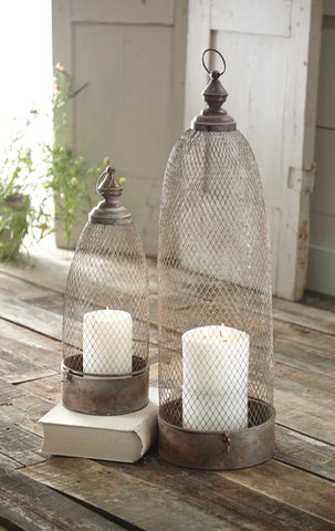 Dome Copper Lanterns