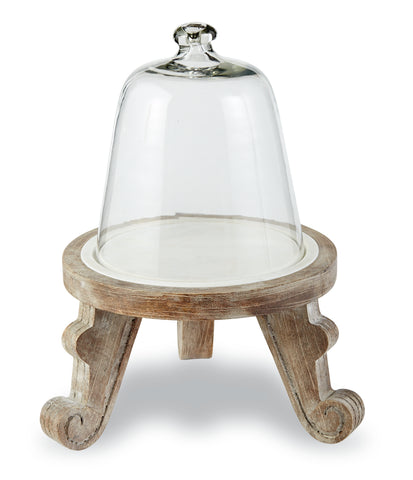 Pedestal Cloche Set