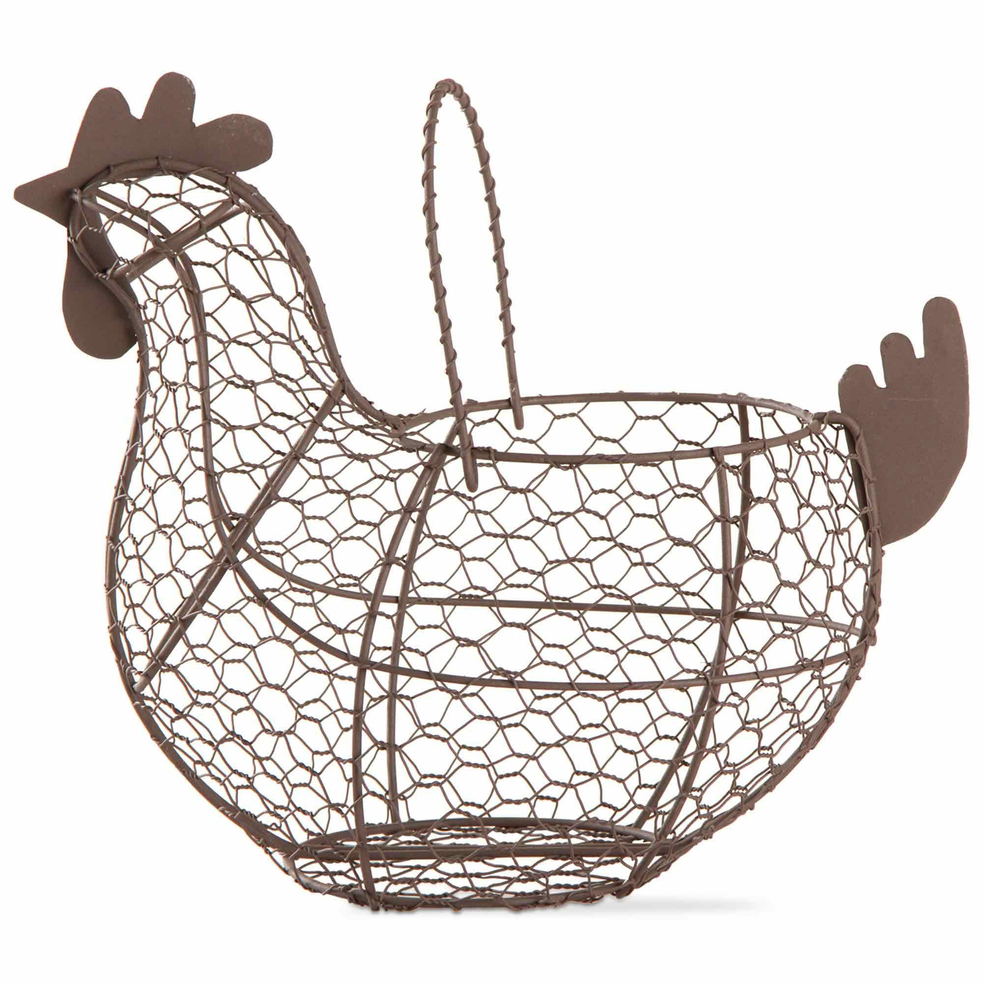 Farmhouse Chicken Wire Basket – Bahay Home and Garden