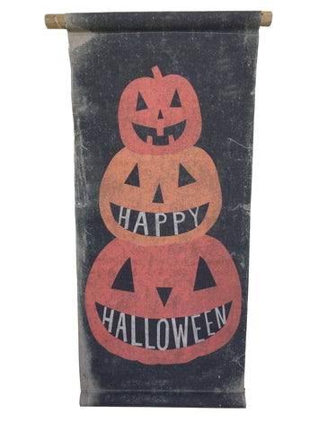 Happy Halloween Pumpkin Scroll