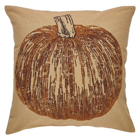 Pumpkin Printed Pillow Cover