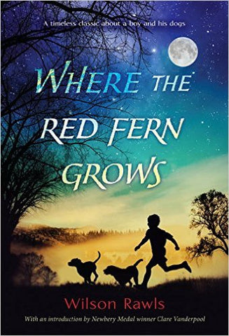 November Book Club: Where the Red Fern Grows by Wilson Rawls