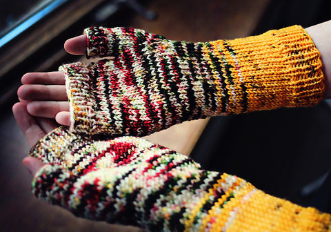 Made to Fade Mitts by Genovia Antolini