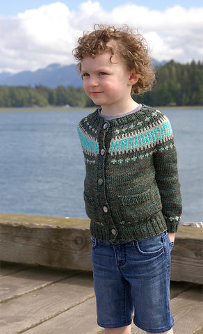 kid version of Clayoquot sweater #yearofsweaters
