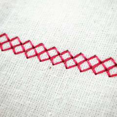 Cross Stitch with EverSewn Sparrow 25 at Scratch