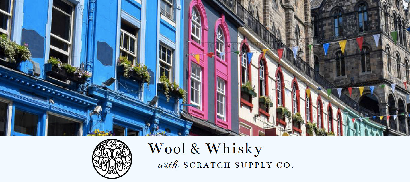 Wool and Whisky Knitting Tour in Scotland April 2021