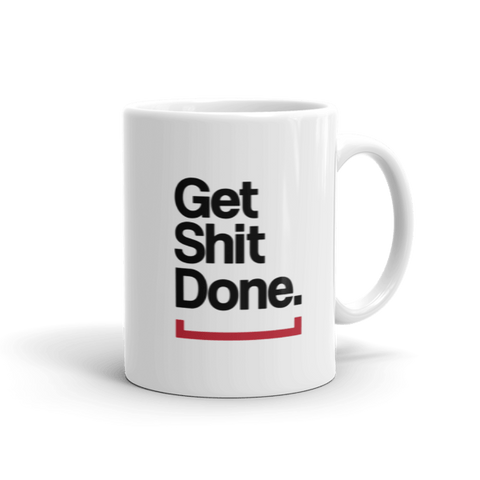 Get Rich or Die Trying Coffee Mug