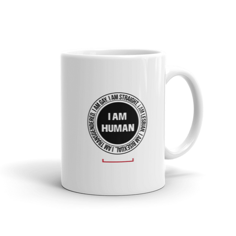 I Am Human LGBT Coffee Mug