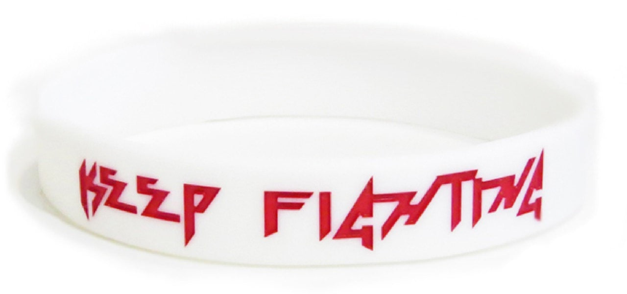 Keep Fighting Wristband