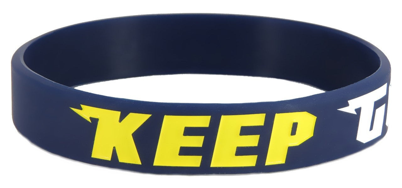 Keep Going Wristband