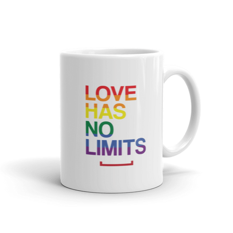 Love Has No Limits LGBT Coffee Mug