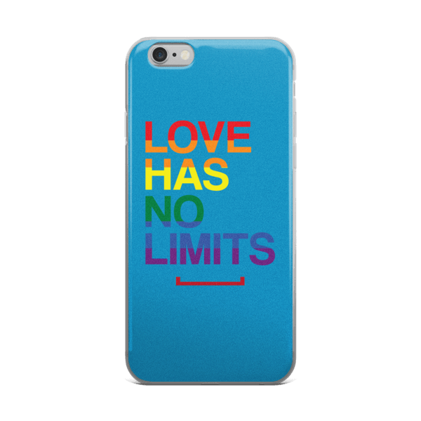 Love Has No Limits LGBT iPhone 6/6s, 6 Plus, 6s Plus Case