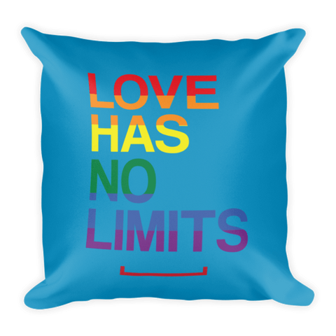 Love Has No Limits LGBT Pillow