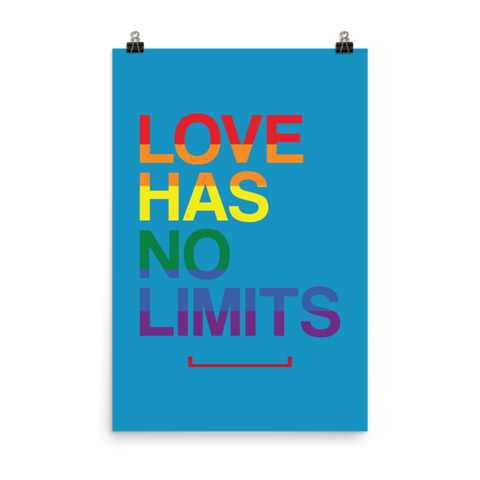 Love Has No Limits LGBT Poster