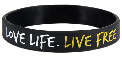 No Excuses Motivational Wristband