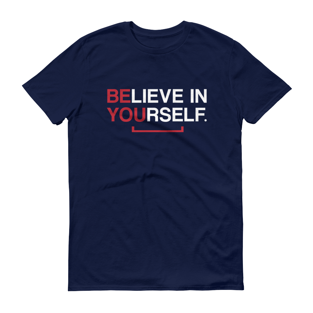 Men's Believe in Yourself Tshirt