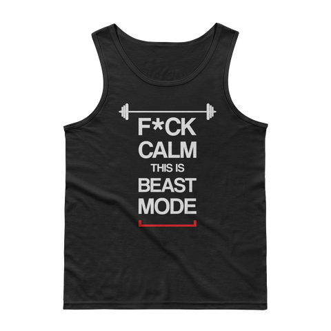 Men's F*CK Calm Tank Top
