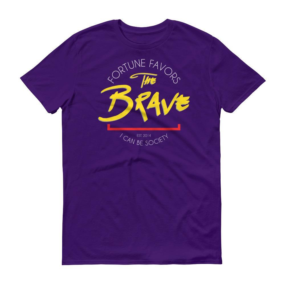 Men's Fortune Favors The Brave Tshirt