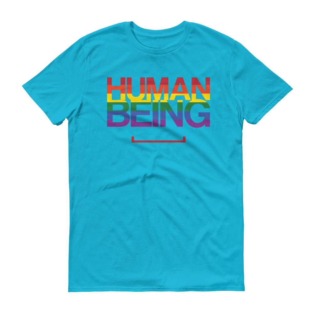 Men's Human Being LGBT Tshirt