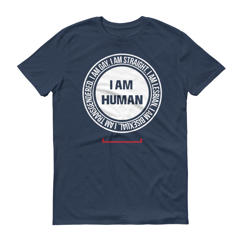 Men's I Am Human LGBT Tshirt