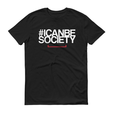 Men's I Can Be Society The Bat Tshirt - Black