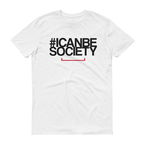 Men's #ICANBESOCIETY Tshirt - Light