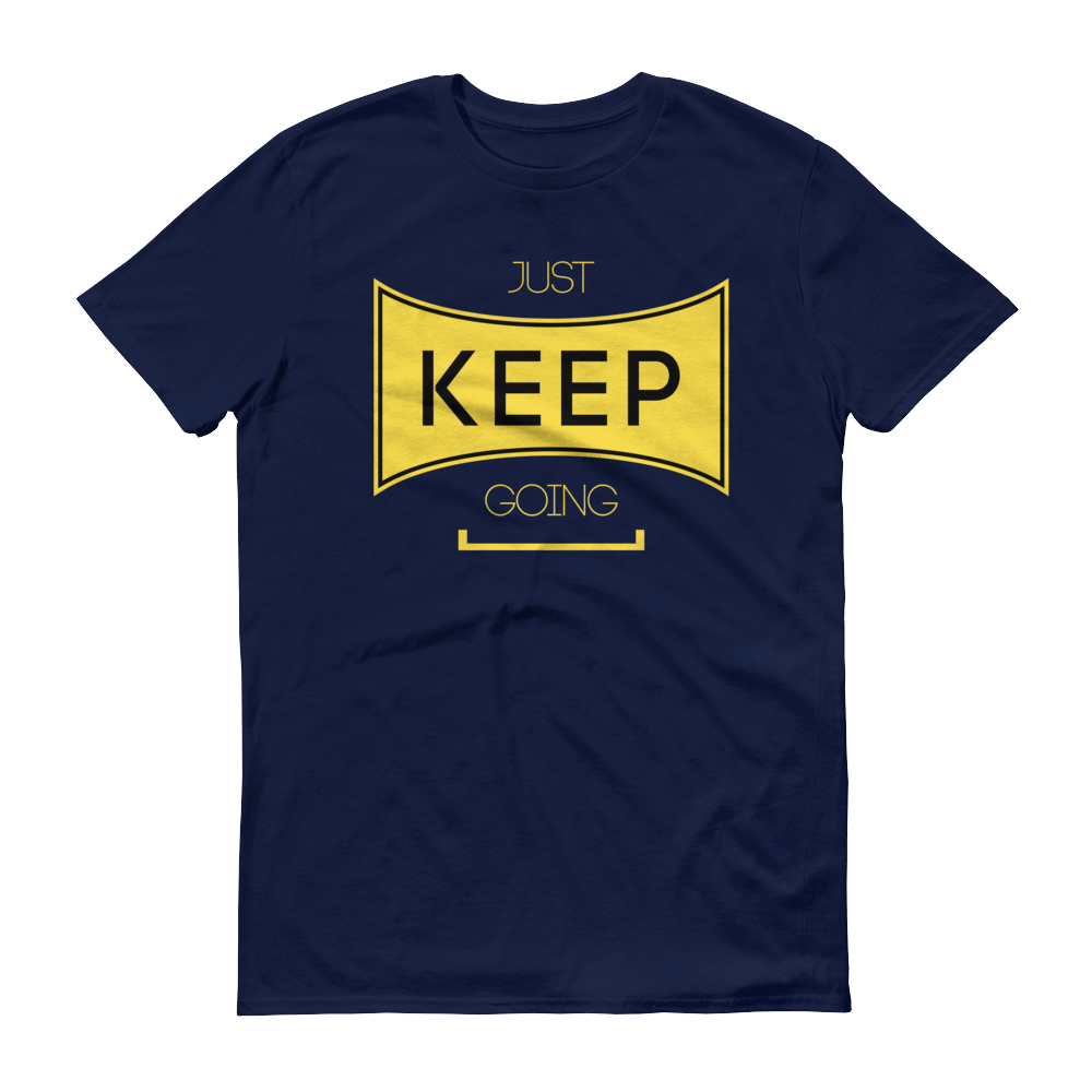 Men's Just Keep Going Tshirt