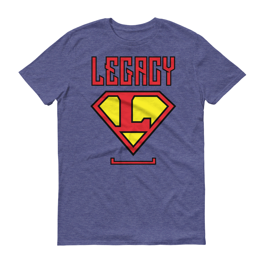 Men's Legacy Tshirt - Black Outline