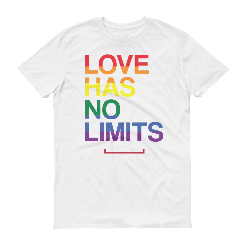 6de18976c Men's Love Has No Limits LGBT Gay Pride Tshirt | $29.99 | Free ...