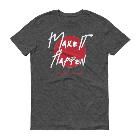 Men's Make Your Mark Tshirt - Gold