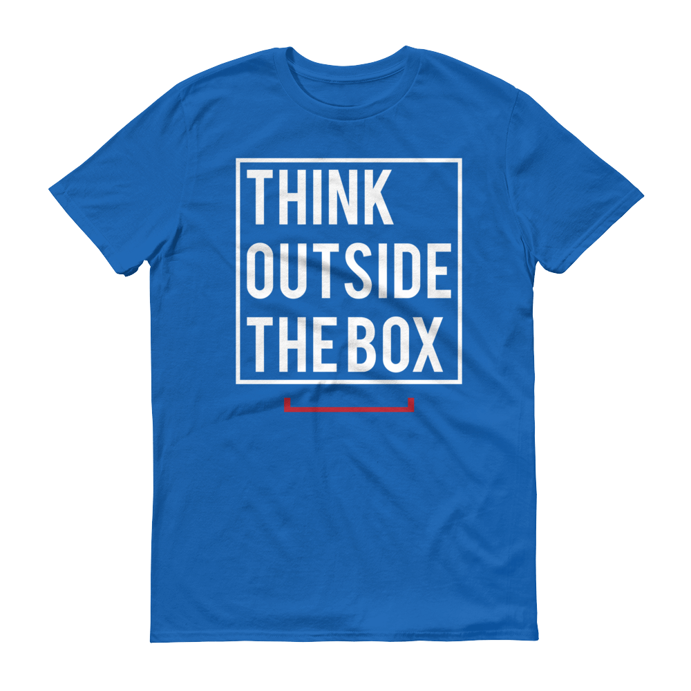 Men's Think Outside The Box Tshirt