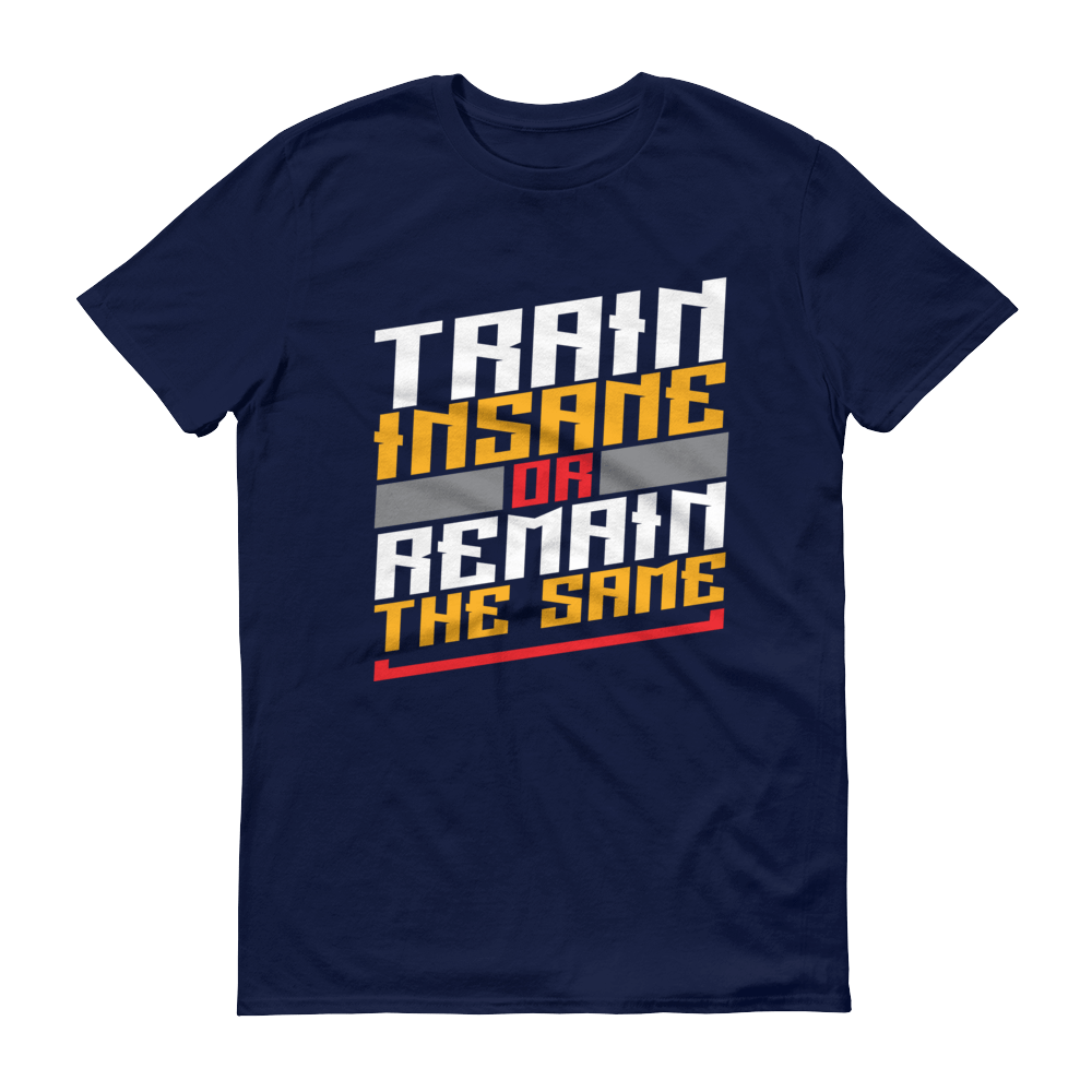 Men's Train Insane or Remain The Same Tshirt