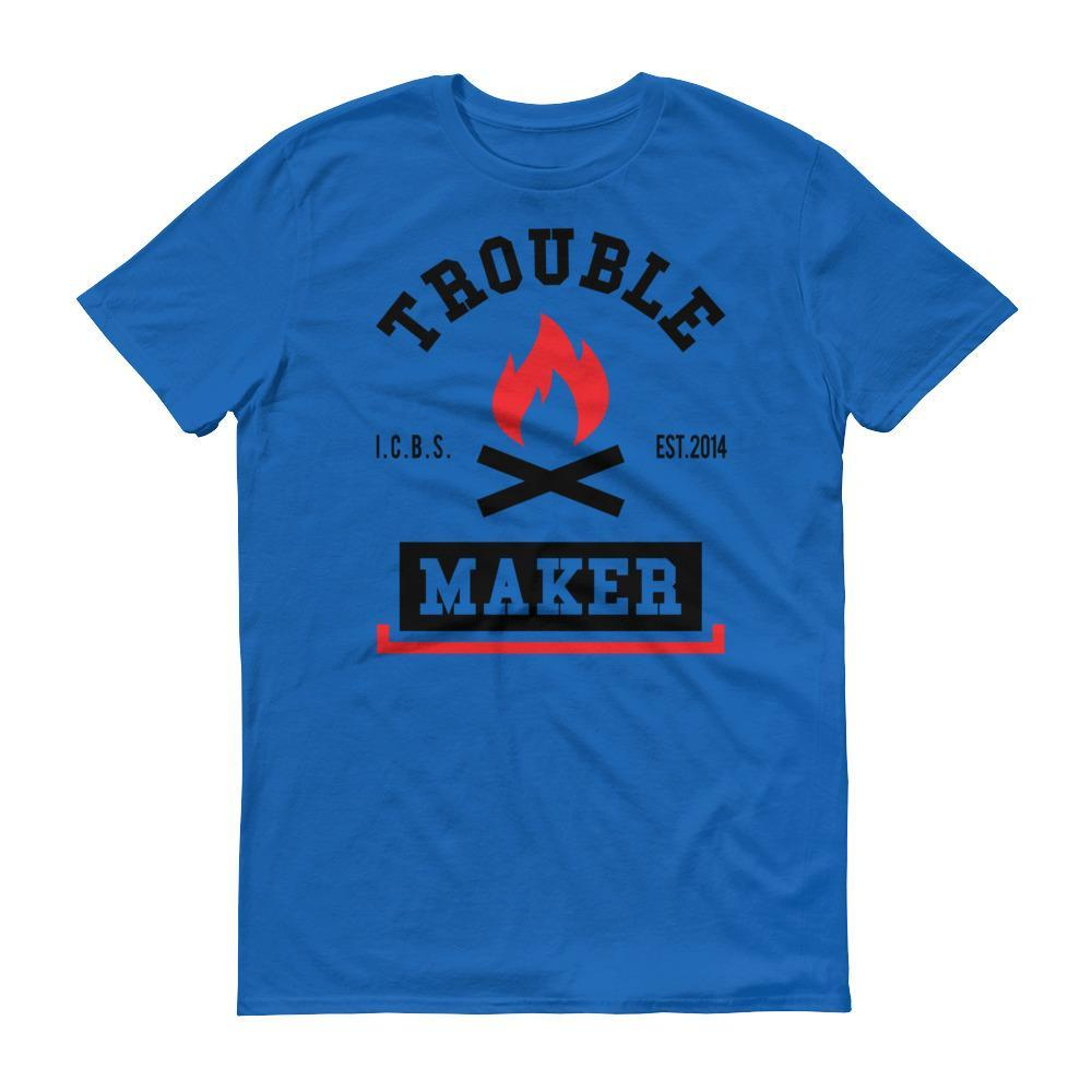 Men's Trouble Maker Tshirt - Black
